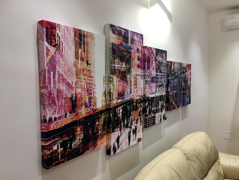 Stampa quadri su tela canvas