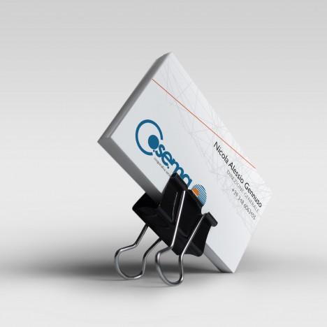 bigliettino da visita coordinato aziendale