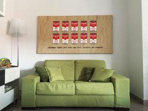 stampa tela canvas Warhol
