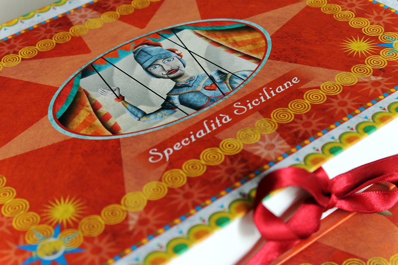 Scatole cartonate per dolci serie sicilia